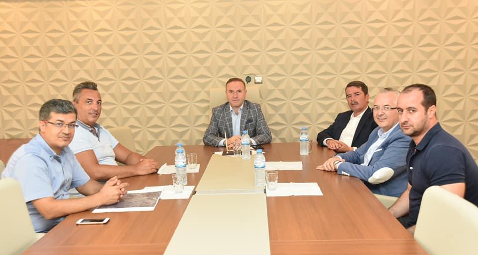 Türkoğlu OSB'ye Doğalgaz Hattı Bağlanması ile ilgili İstişare Toplantısı Yapıldı